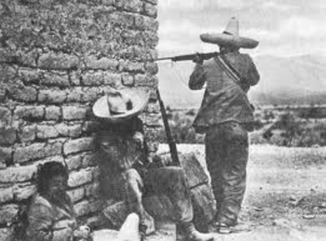 The Mexican Revolution Ends
