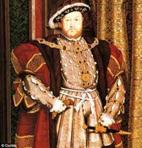 King Henry VIII Dies