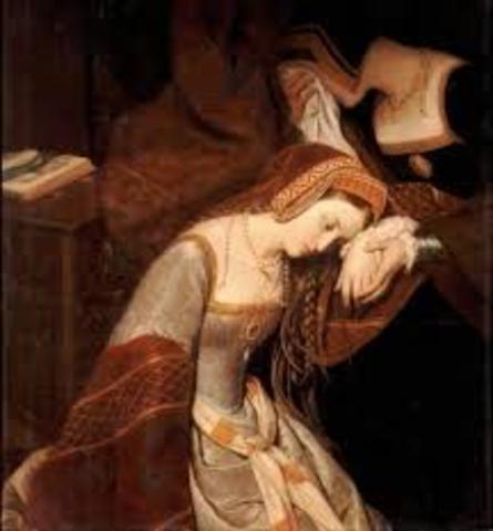 Anne Boleyn is Executed