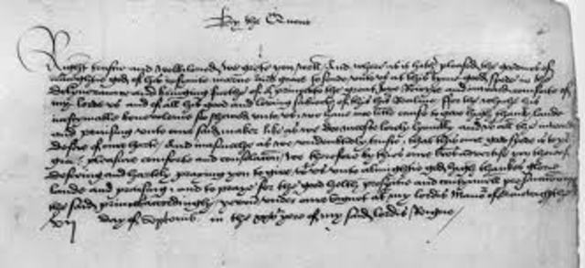 Act of Supremacy of 1534 is Passed