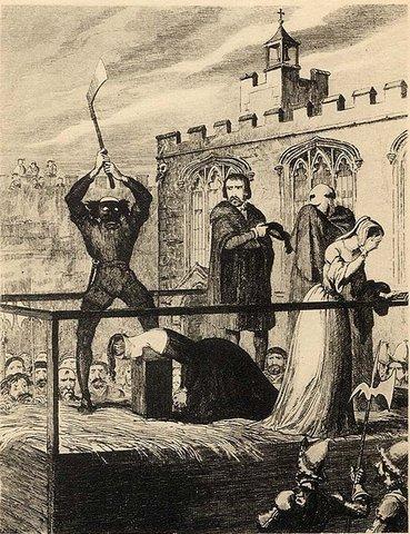 Kathryn Howard is Executed