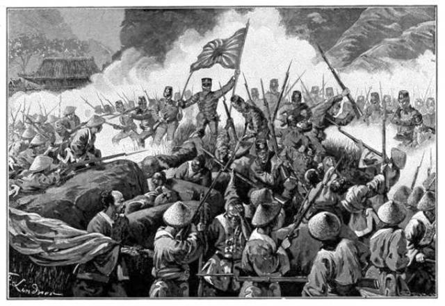 The Japanese invade Mainlaind-China