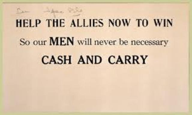 The Neutrality Act of 1939