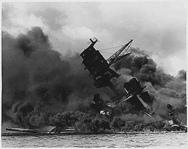 Japan attackerar