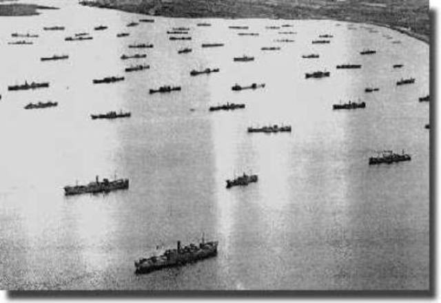 The U-Boat Wolf Pack Attack