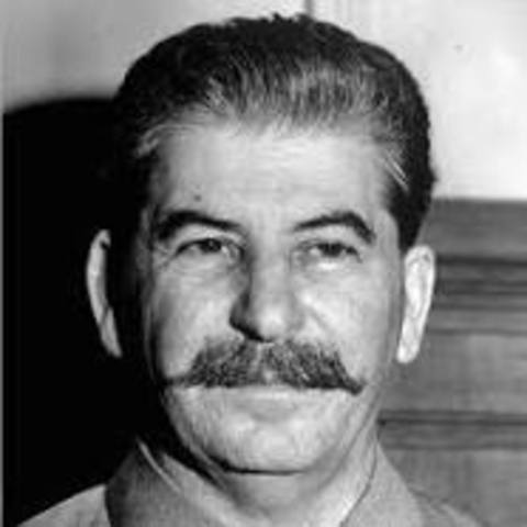 The United States supports Stalin