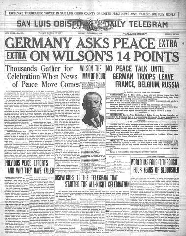 Woodrow Wilson's 14 Points