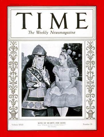 TIME magazine: December 25th, 1933