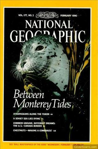 National Geographic Magazine: February 1990