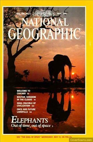 National Geographic Magazine: May 1991