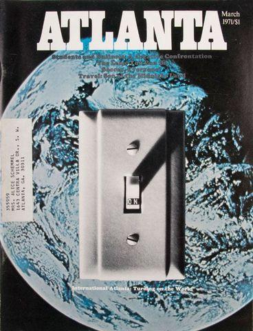 Atlanta Magazine: March 1971