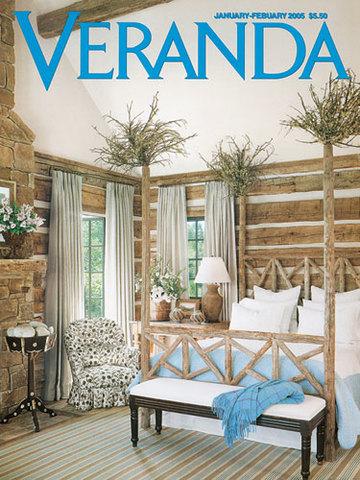 Veranda Magazine: January/February 2005