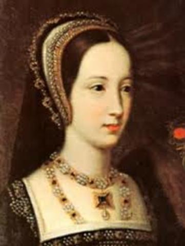 Coronation of Mary Tudor