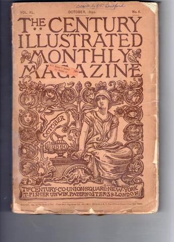 The Century Illustrated Monthly Magazine: October 1890