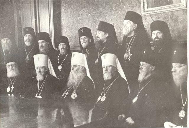 Избрание членом Священного Синода