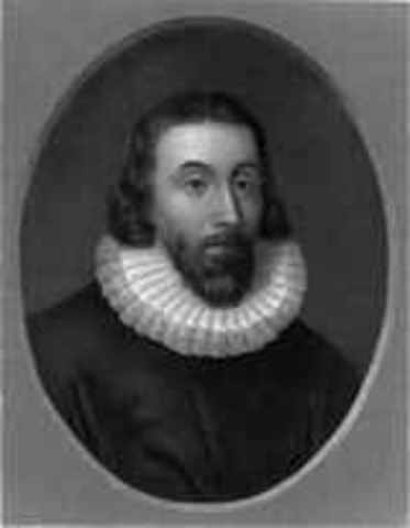 The founding of Massachsets and its Governer