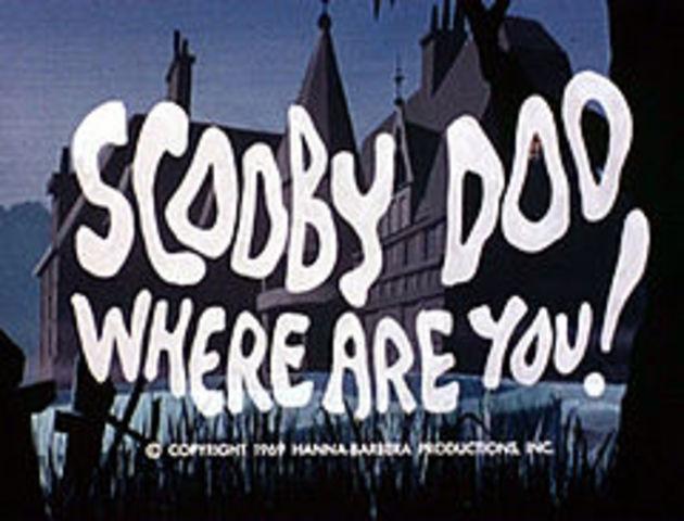 SCOOBY DOO on TV