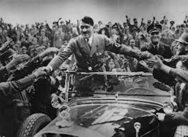 Hitler Made Chancellor of Germnay