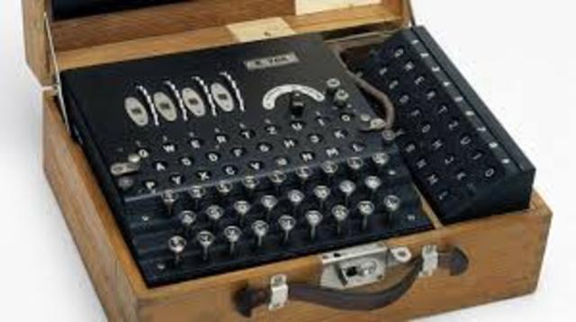 Enigma Machine used in Britain