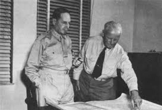 Nimitz and MacArthur begin island hoppin in the Pacific