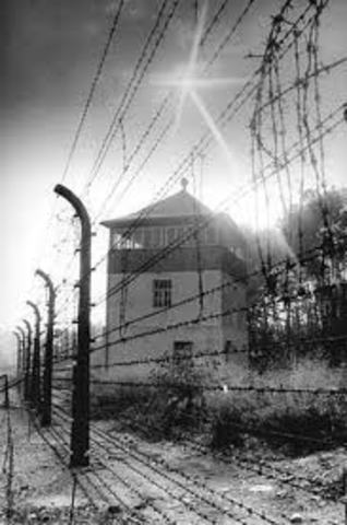 First Concentration Camps Established