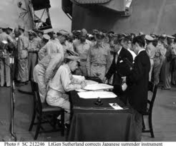 Surrender of Japan