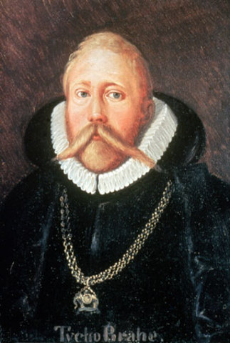 Tycho Brahe Observes a New Star
