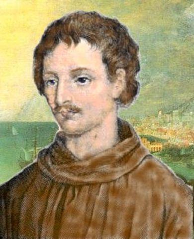 Giordano Bruno Burned at the Stake