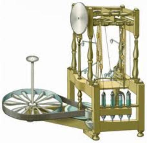 Richard Arkwright. Telar hidráulico ( Water Frame)
