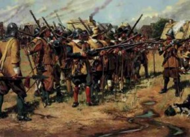 Thirty years war breaks out