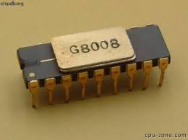 8008 12 de Junio de 1972 Intel