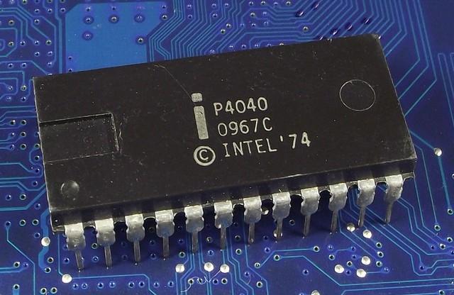 Intel 4040 1 Jan 1974