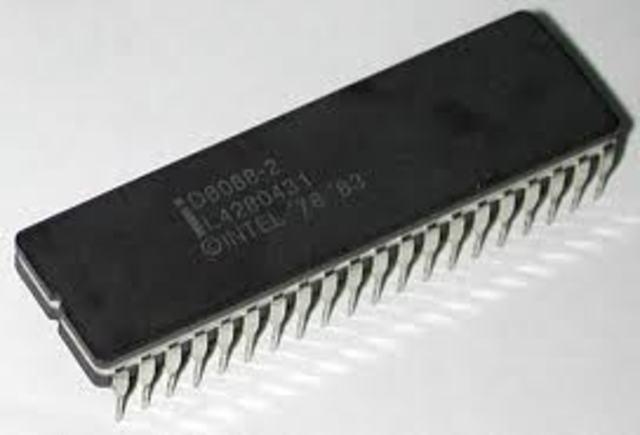 Segundo microprocesador 8088