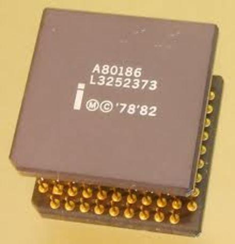 80186 apareció en febrero de 1982