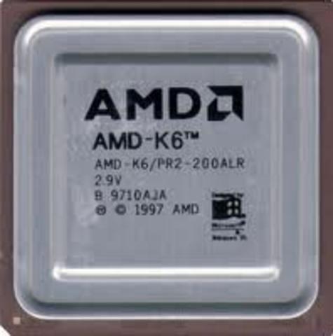 AMD K6 2 Apr 1997