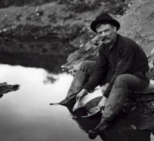 Yukon Gold Rush Begins