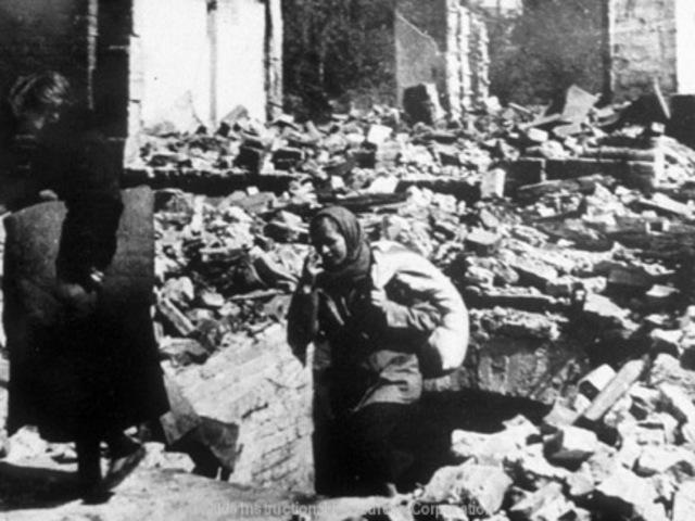 End of Battle of Stalingrad