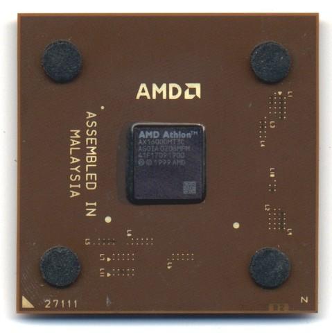 """AMD Athlon XP """"Palomio"""" 9 Oct 2001"""