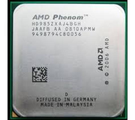 AMD Phenom 27 Apr 2007