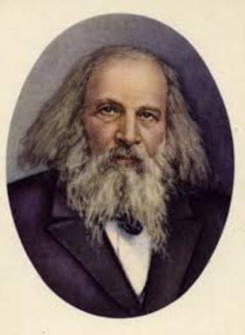 180 лет со дня рождения Дмитрия Ивановича Менделеева (1834 - 1907), русского ученого и общественного деятеля