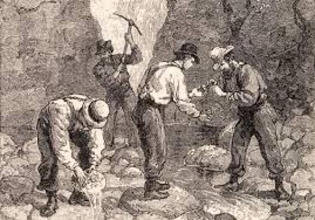 Gold Discovered in Cherokee Nation