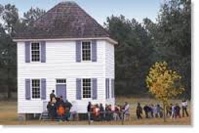 1825 Cherokee Capital of New Echota founded