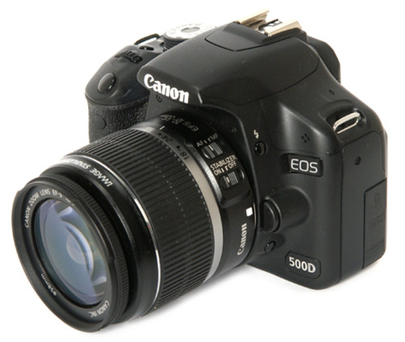 Used a Canon 500D DSLR for Production