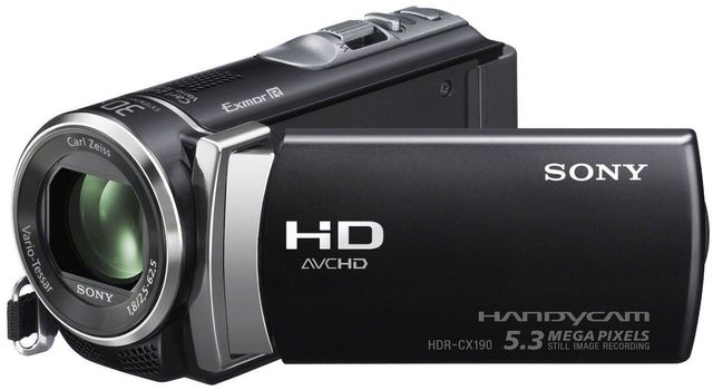 Used a Sony Handycam HDR-CX190 for Research
