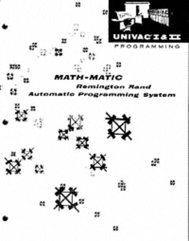 UNIVAC MATH MATHIC