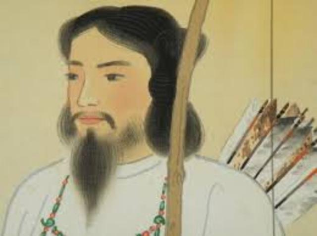 Japan was founded in 600 BC by the Emperor Jimmu.