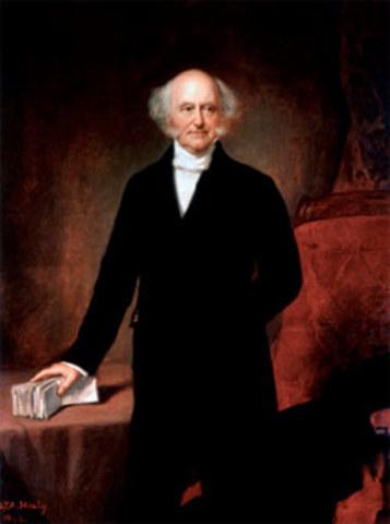 Election of Martin Van Buren