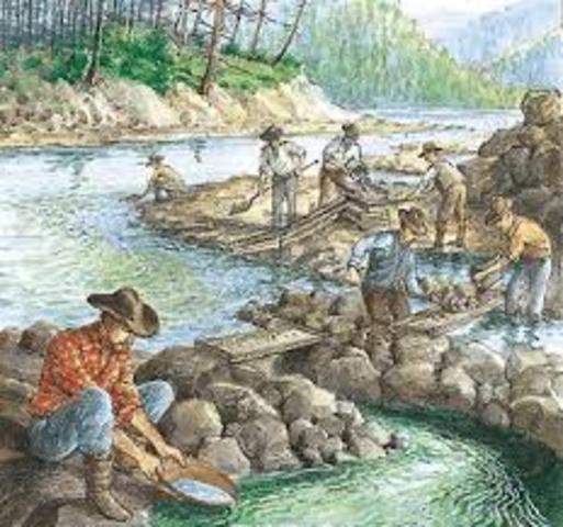 Gold is Discovered in the Cherokee Nation Triggering America's First Gold Rush