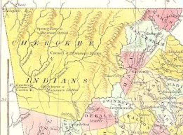 Cherokee Nation vs Georgia
