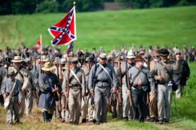 troops move into gettysburg